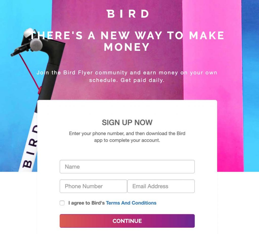 Make Money Bird Flyer