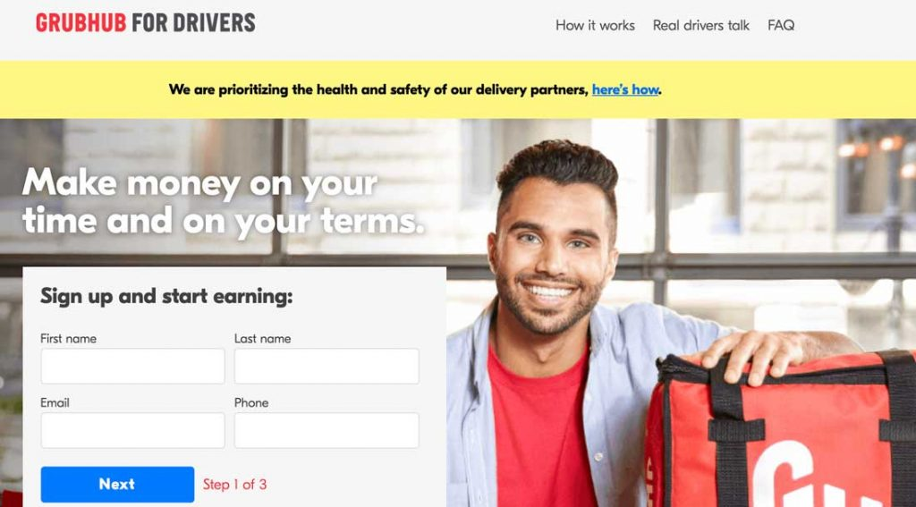Make Money Delivery Driver